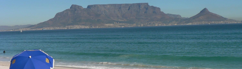Bloubergstrand Tafelberg